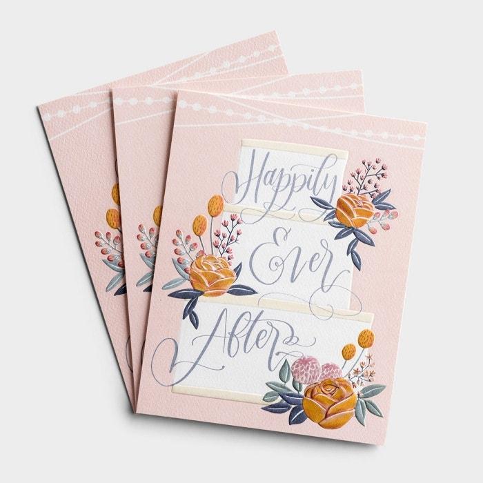 Wedding - Happily Ever After - 3 Premium Studio 71 Cards