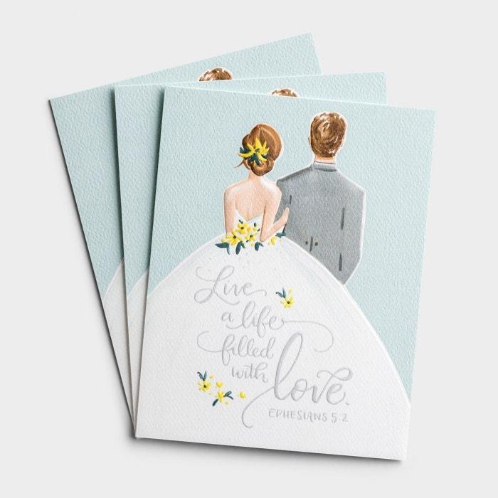 Wedding - Life Filled with Love - 3 Premium Studio 71 Cards