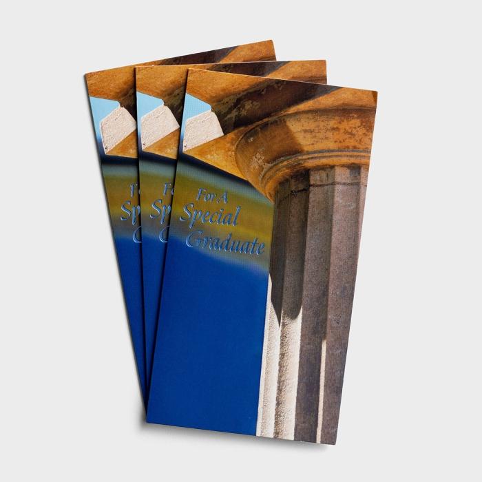 Graduation - Gift or Money Card - 3 Premium Cards