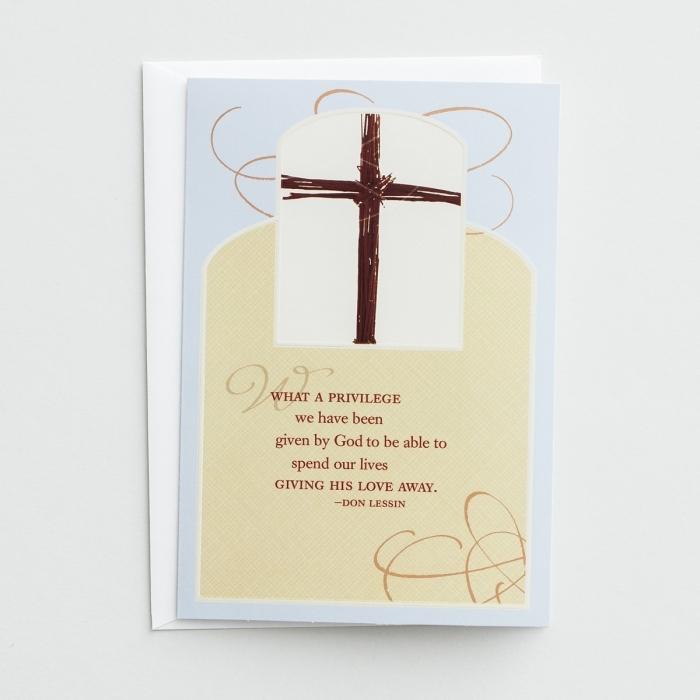 Ministry Appreciation - What a Privilege - 6 Premium Cards