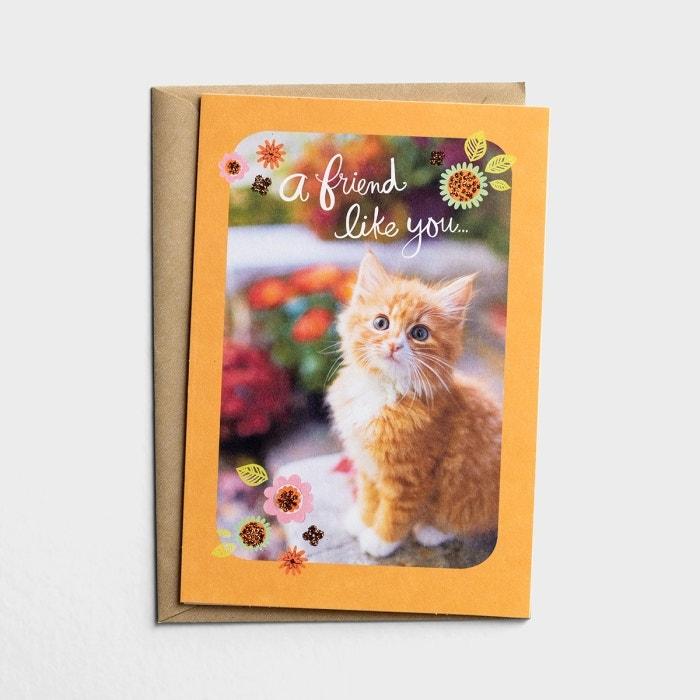 Thanksgiving - Friend - A Friend Like You - 1 Premium Card
