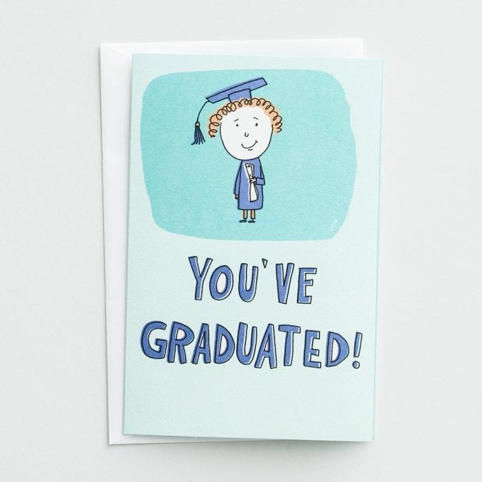 Graduation - You've Graduated - 3 Premium Cards