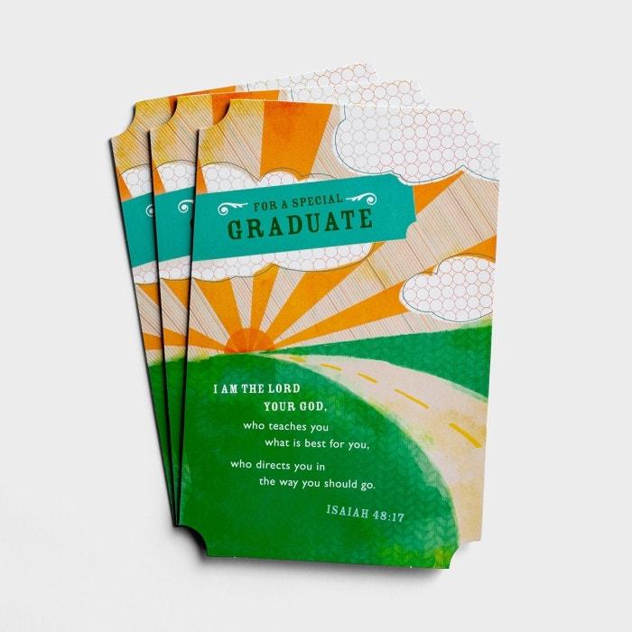 Graduation - For a Special Graduate - 3 Premium Cards