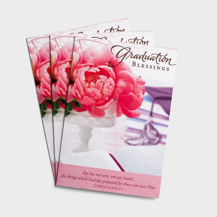 Graduation - Graduation Blessings - 3 Premium Cards