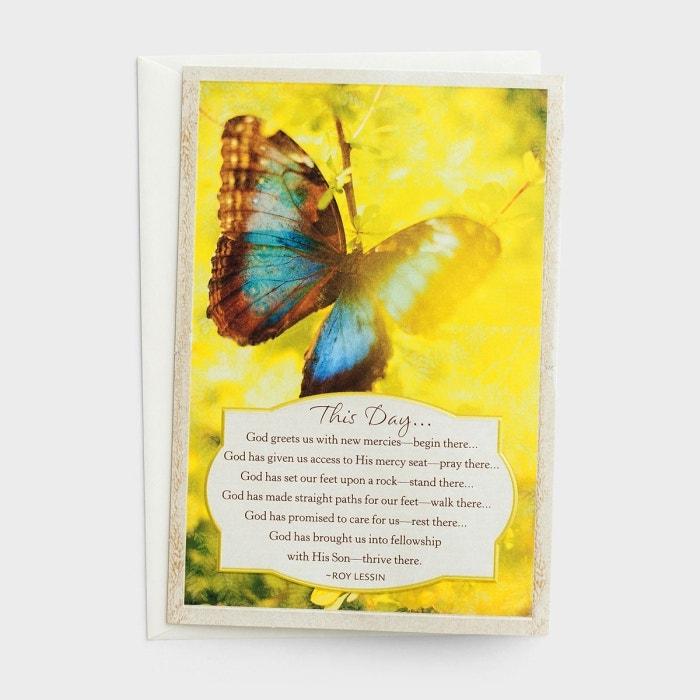 Roy Lessin - Encouragement - This Day - 3 Premium Cards