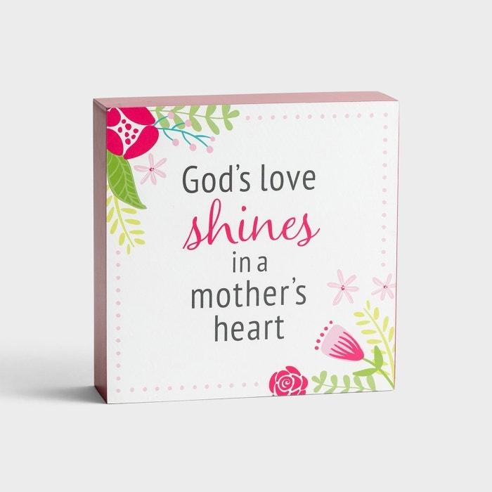 God's Love Shines - Inspirational Plaque