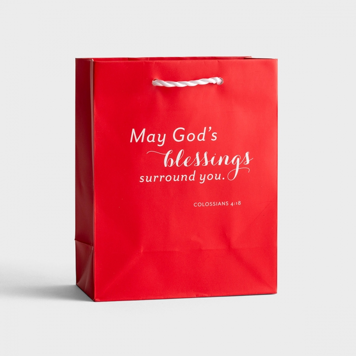 May God's Blessings Surround You - Small Gift Bag