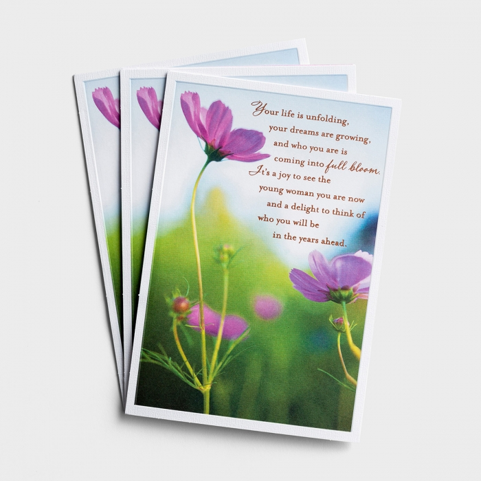 Graduation - Your Life Is Unfolding - 3 Premium Cards