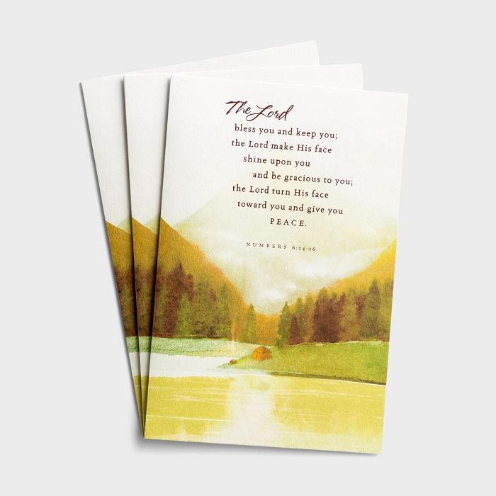 Father's Day - The Lord Bless You - 3 Premium Cards