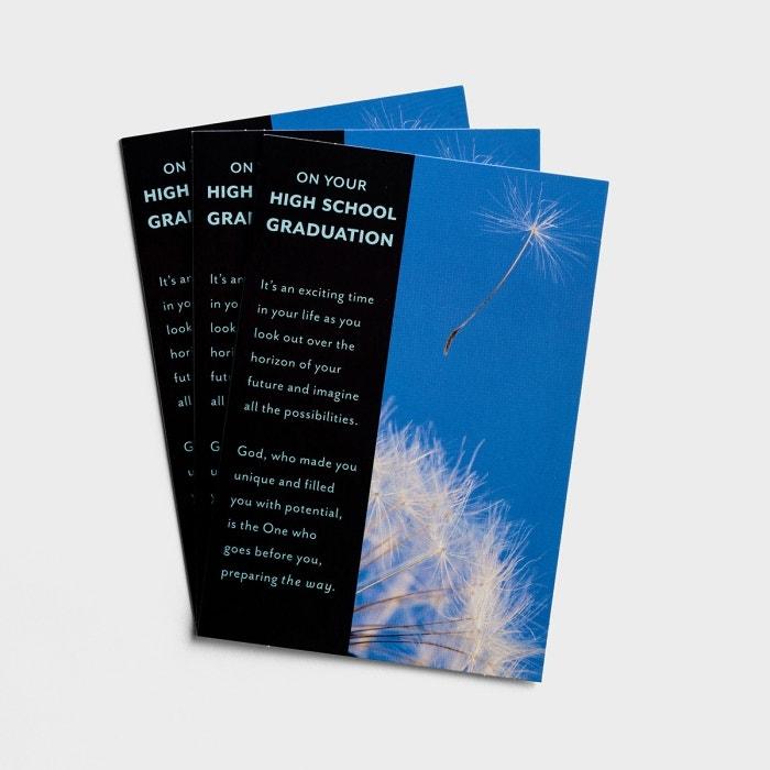 Graduation - High School Graduation - 3 Premium Cards