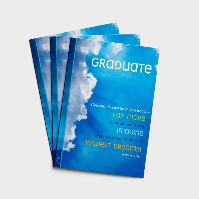 Graduation - Dream Big - 3 Premium Cards