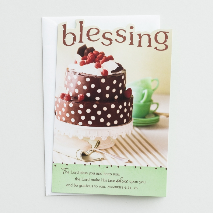 Bright Blessings - Birthday - Bless You - 6 Premium Cards