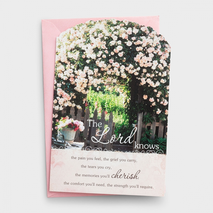 Bright Blessings-Sympathy - The Lord Knows - 6 Premium Cards, KJV