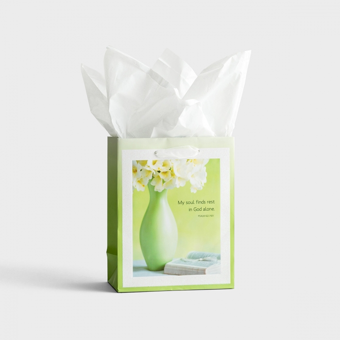 My Soul Finds Rest - Small Gift Bag with Tissue