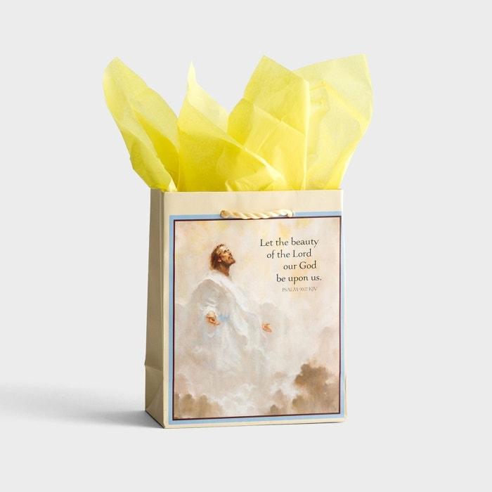 Life of Christ - KJV - Small Gift Bag with Tissue
