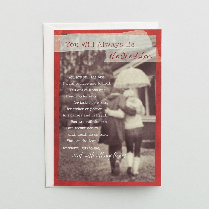 Valentine's Day - The One I Love - 1 Premium Card