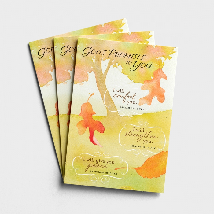 Thanksgiving - God's Promises To You - 3 Premium Cards