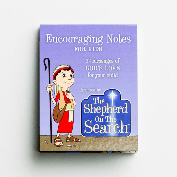 The Shepherd On The Search - Encouraging Notes for Kids - 32 Note Set