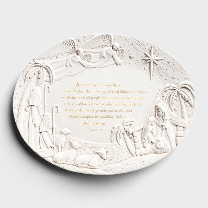 The Christmas Journey - Nativity Serving Platter