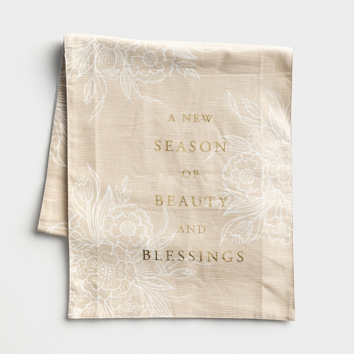 Beauty and Blessings - Table Runner