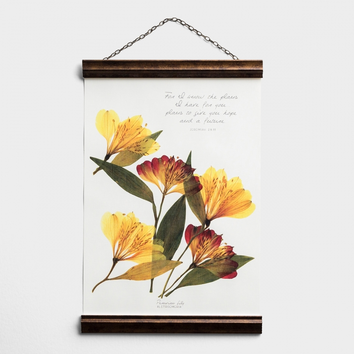 I Know the Plans I Have for You - Banner Wall Art