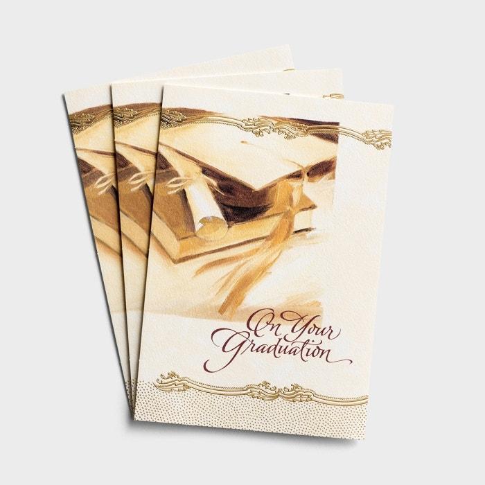 Graduation - Be Blessed - 3 Premium Cards