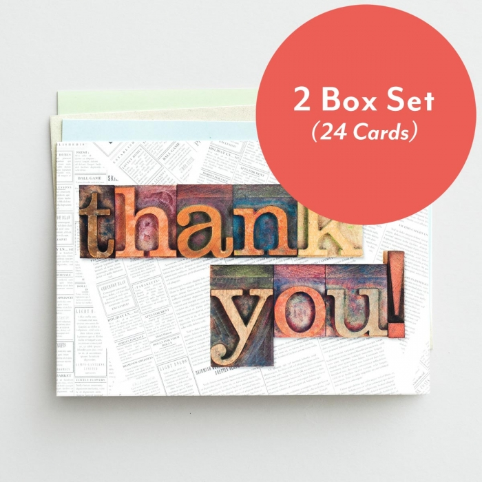 Thank You - Many Blessings - 2 Box Set