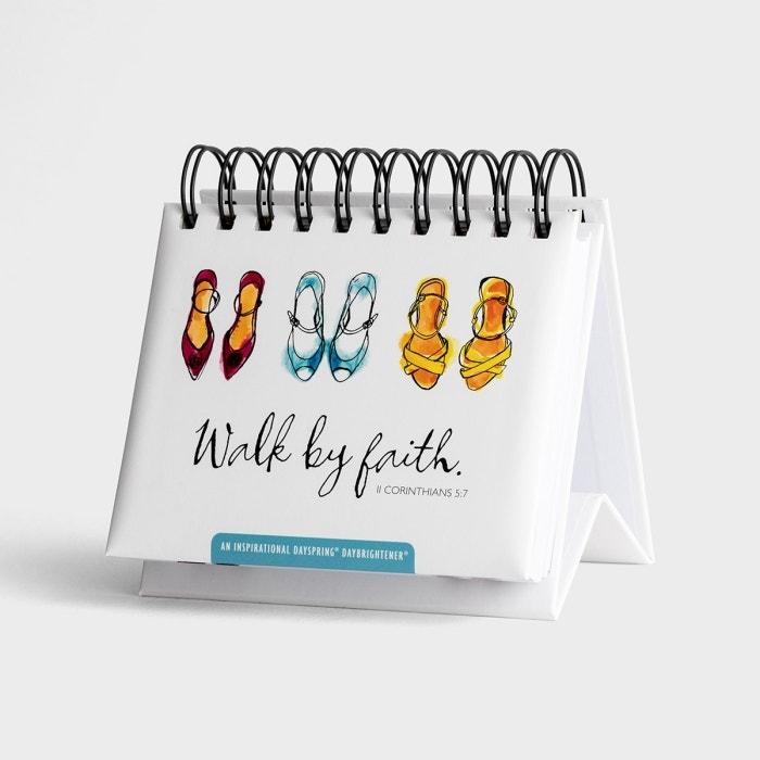 Walk By Faith - 365 Day Perpetual Calendar