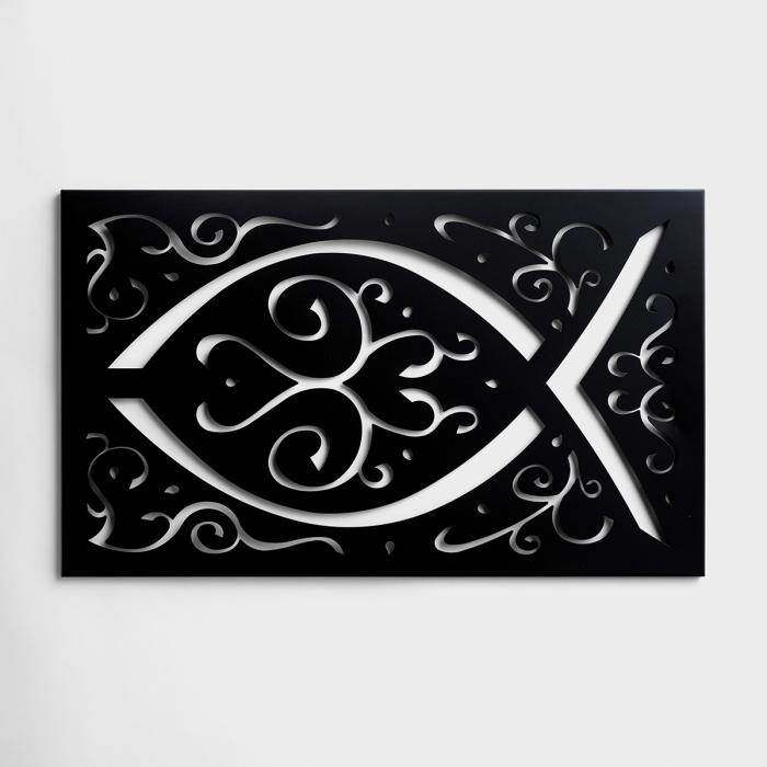 Ichthys - Metal Wall Art