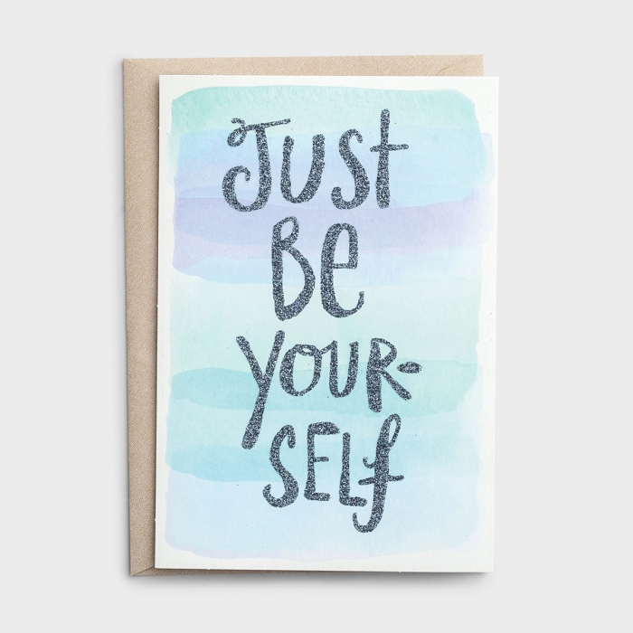 Sadie Robertson - Encouragement - Just Be Yourself - 3 Premium Cards