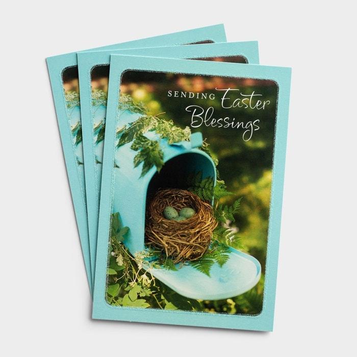 Easter - Sending Easter Blessings - 3 Premium Cards