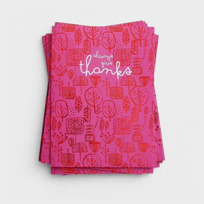 Always Give Thanks - 10 Thank You Notes