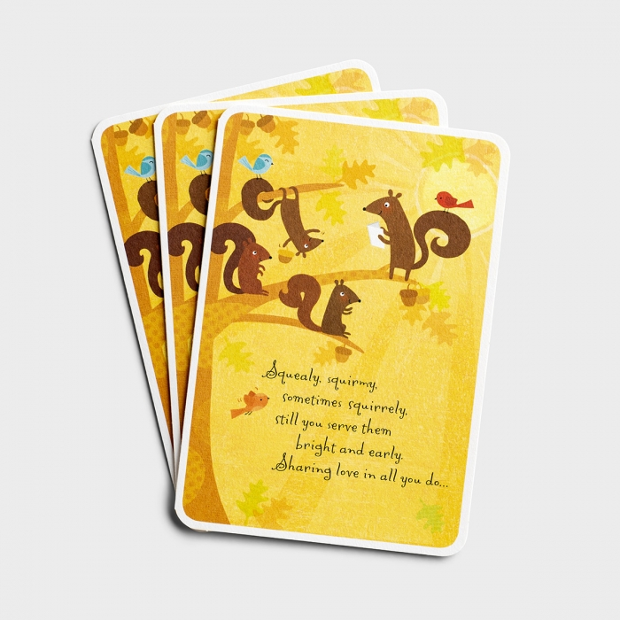 Children's Ministry - You Are a Blessing - 3 Premium Cards