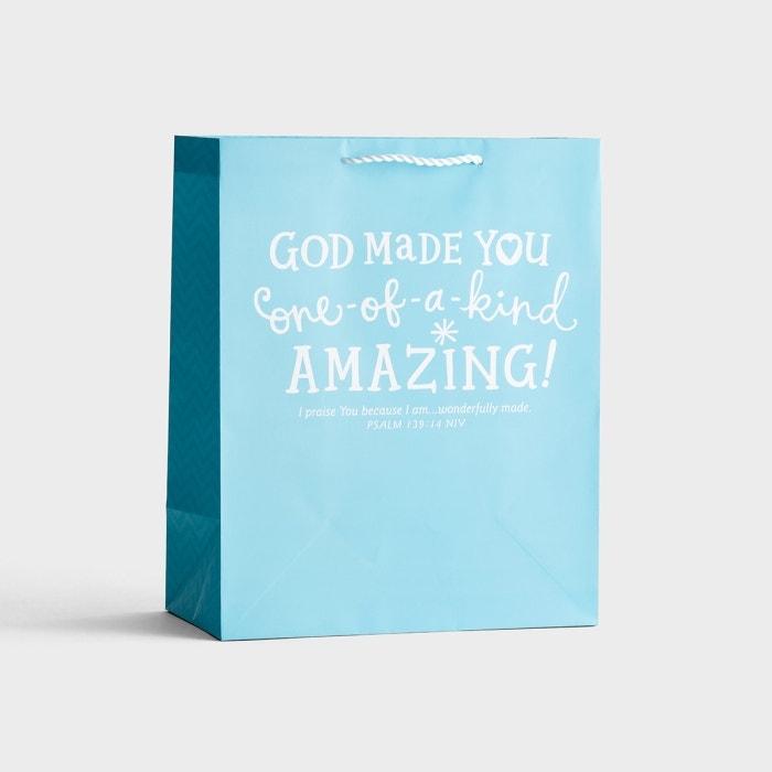 God Made You Amazing - Large Gift Bag