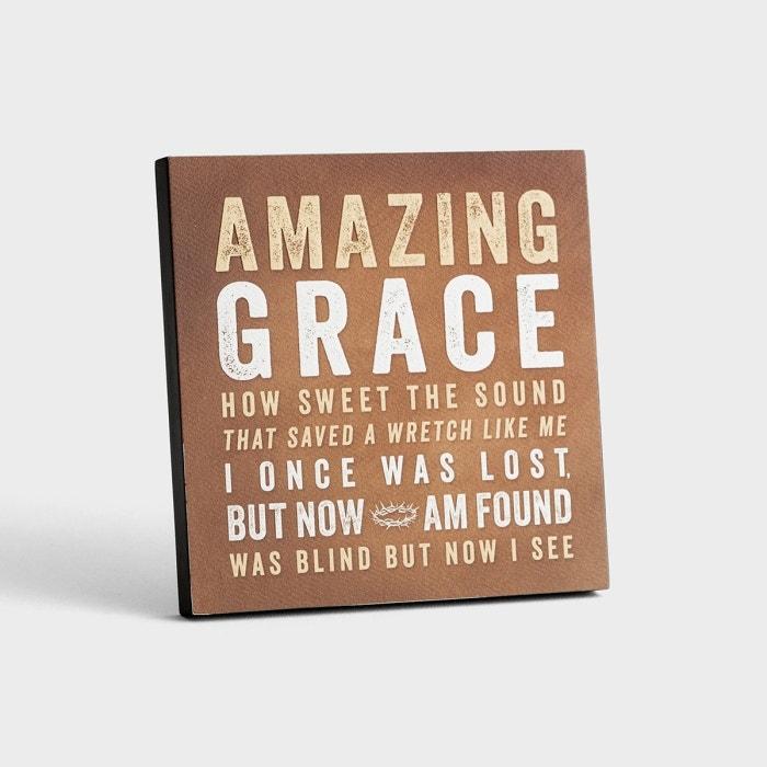 Lyrics for Life - Amazing Grace - Wall Art