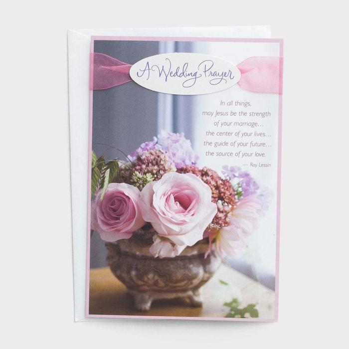 Wedding - A Wedding Prayer - 6 Premium Cards