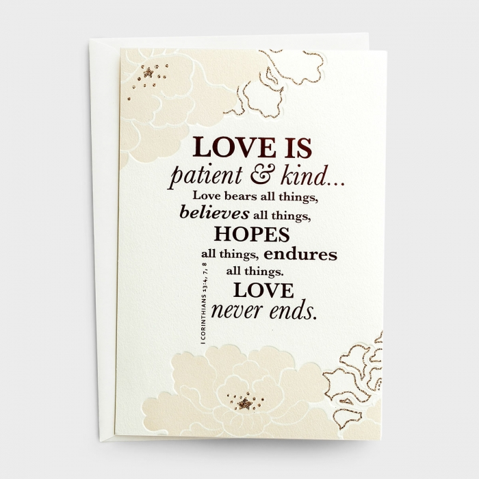 Wedding - Patient & Kind - 6 Premium Cards