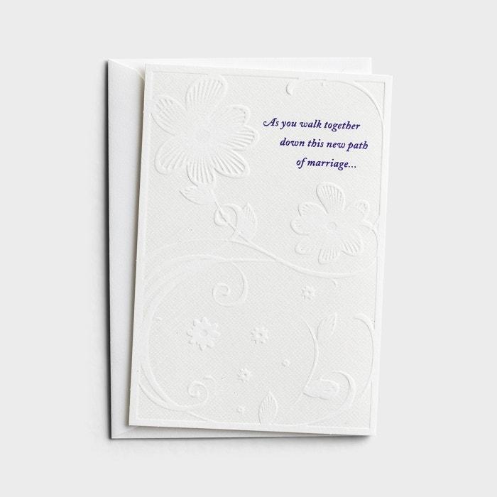 Wedding - As You Walk Together - 6 Premium Cards