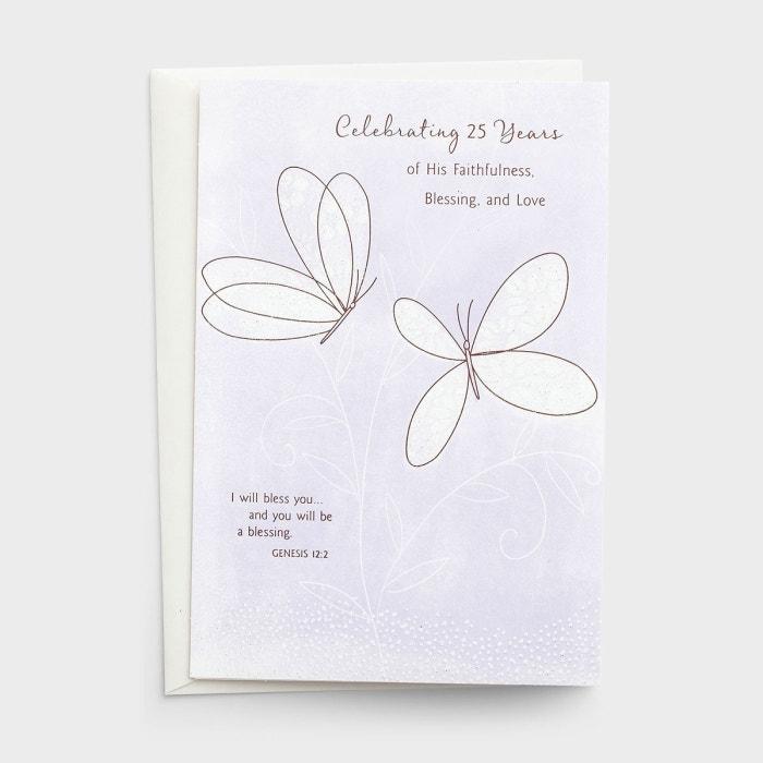 25th Anniversary - Celebrating - 1 Premium Card