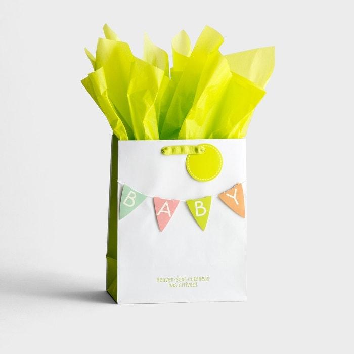 Baby - Medium Gift Bag with Tissue