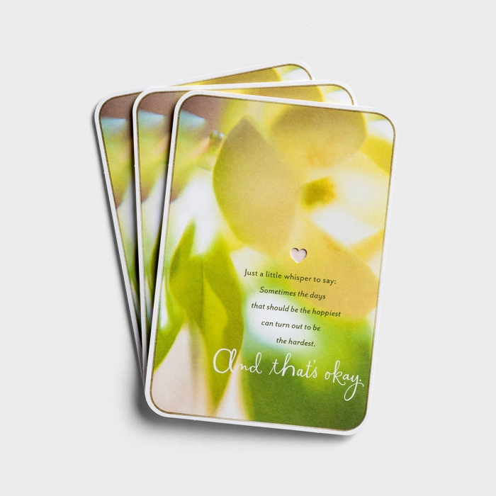 Difficult Mother's Day - A Little Whisper to Say - 3 Premium Cards