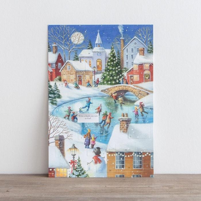 Ice Skating Fun - Advent Calendar