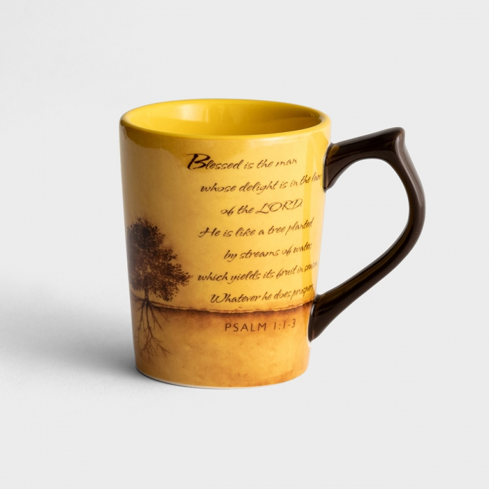 Blessed Is the Man, Psalm 1:1-3 - Classic Mug