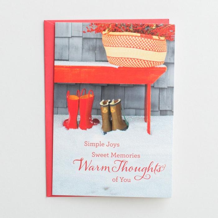 Simple Joys - 18 Christmas Boxed Cards