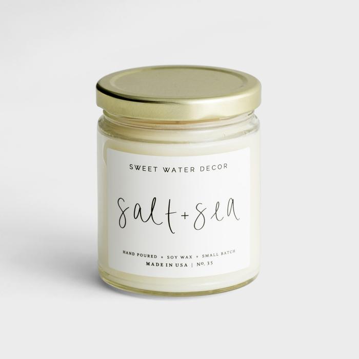 Salt + Sea - Soy Candle