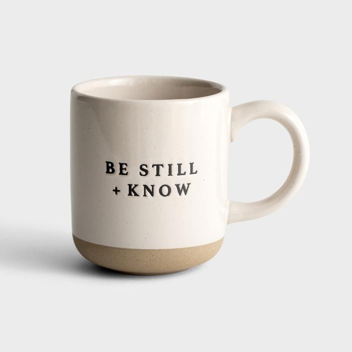 Be Still + Know - Stoneware Mug