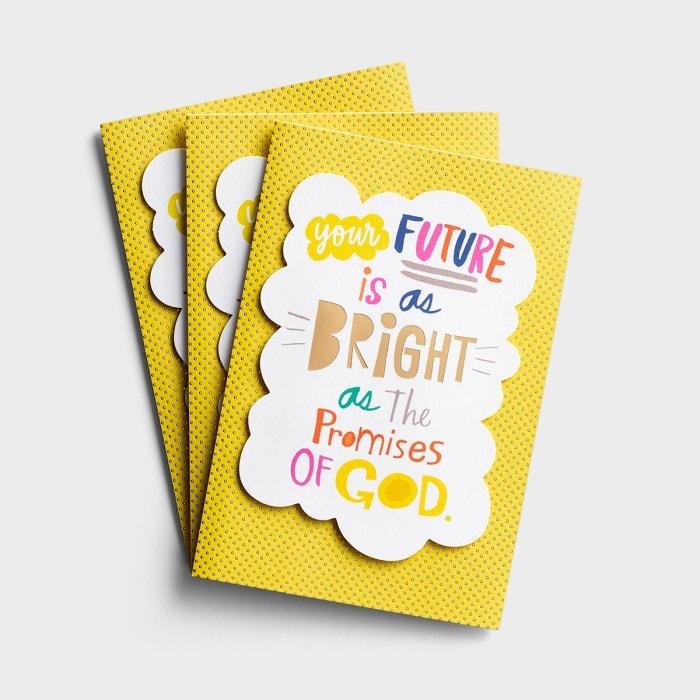 Graduation - Your Future - 3 Premium Cards