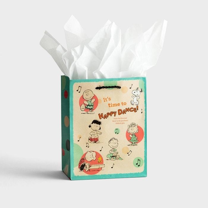 Peanuts® - Medium Gift Bag with Tissue