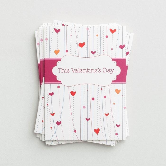 Valentine's Day - This Valentine's Day - 10 Note Cards