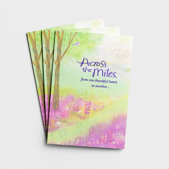 Easter - Across the Miles - 3 Premium Cards